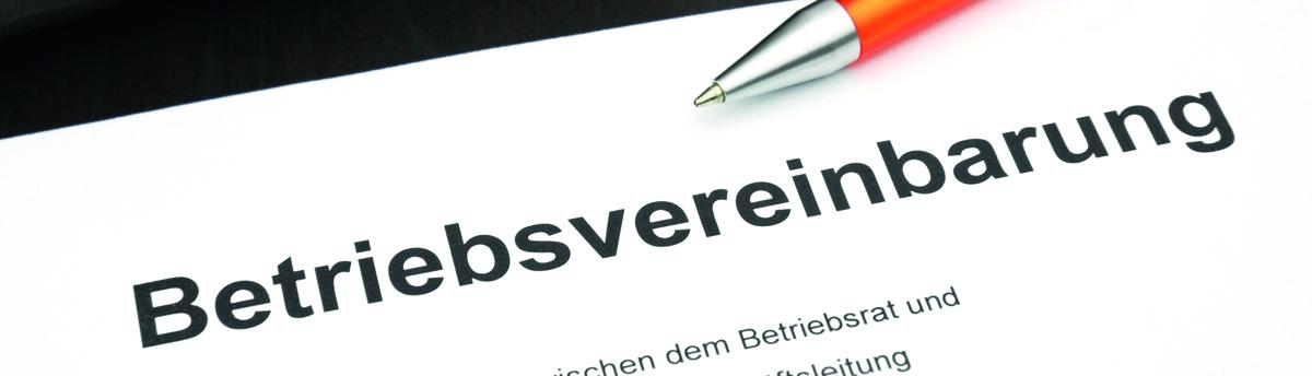 Mitbestimmung Betriebsrat Sozial Betriebsvereinbarung