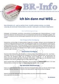 Kündigung von Arbeitnehmern  - Inklusive Musteraushang für Betriebsräte und Personalräte