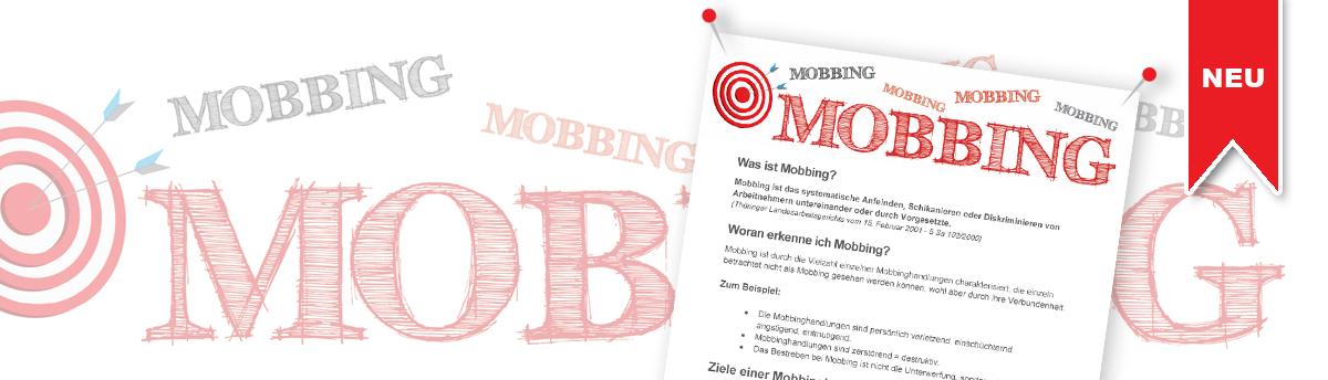Musteraushang Betriebsrat Personalrat Mobbing