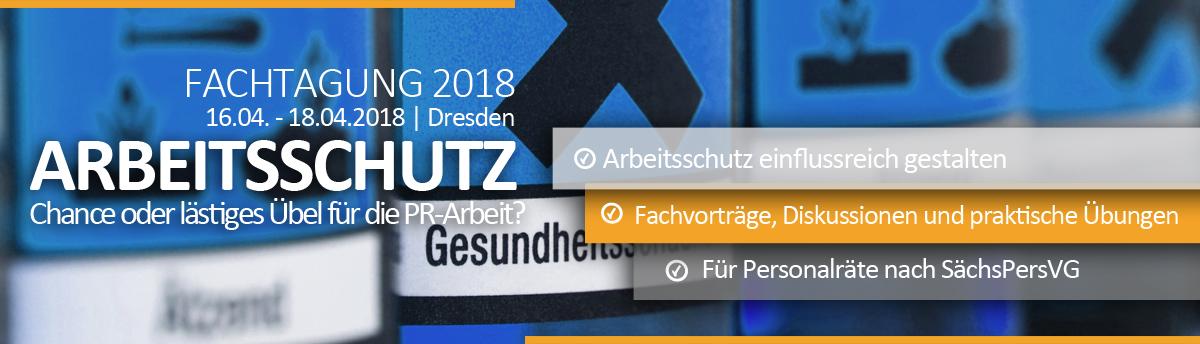 Fachtagung Arbeitsschutz Personalrat Sachsen