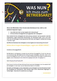 Aushang Muster Vorlage Betriebsrat Personalrat Betriebsarzt