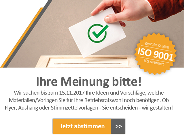 Umfrage-Wahlmaterial-Betriebsratswahl