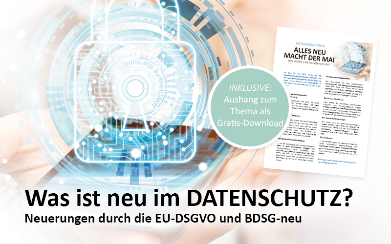 Neuerung Datenschutz EU DSGVO Datenschutzgrundgesetz Was ändert sich