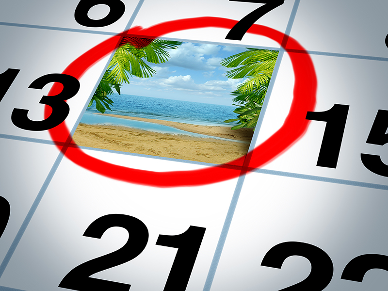 Spontaner Kurzurlaub - nicht immer eine gute Idee