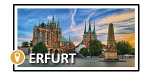 Seminarstandort für offene Seminare Erfurt