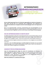 Musteraushang für Betriebsräte und Personalräte zum Thema Gefährdungsanzeige - Download als PDF und Word