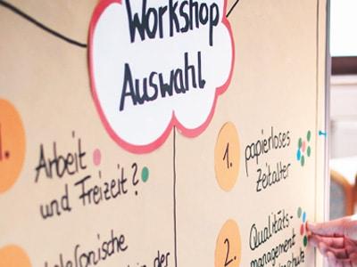 Spannende Workshops - Fachtagung für Betriebsräte und Personalräte