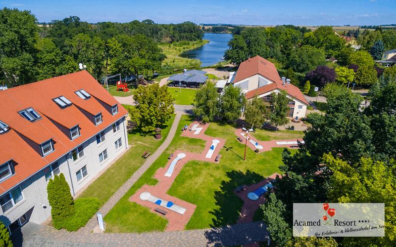 Acamed Resort Nienburg -Außenanlage