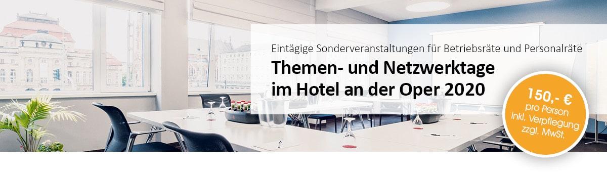 Eintägige Sonderveranstaltungen - Themen- und Netzwerktage für Betriebsräte und Personalräte - Aktuelle Themen aus dem Arbeitsrecht und Sozialrecht - spannend und informativ - 4 mal pro Jahr in Chemnitz