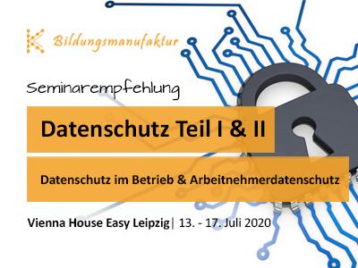 Kompaktseminar zum Datenschutz im Unternehmen - Seminar der K&K Bildungsmanufaktur GmbH